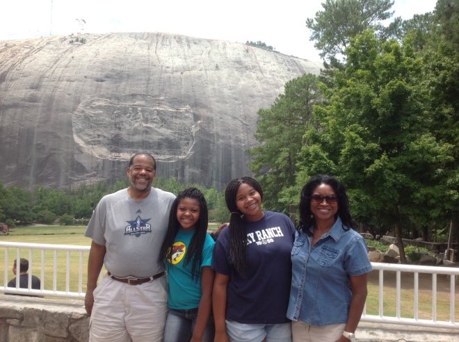 We visited Georgia's famed Stone Mountain Park to see the legendary Confederate Memorial Carving.